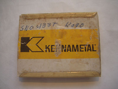 NEW 5PCS KENNAMETAL SNG 433T GRADE K090 CERAMIC INDEXABLE INSERTS