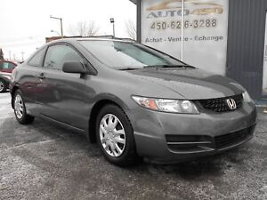 Honda Civic Coupé 2010 LX ***BAS KILOMÉTRAGE,PNEUS D'HIVERS***