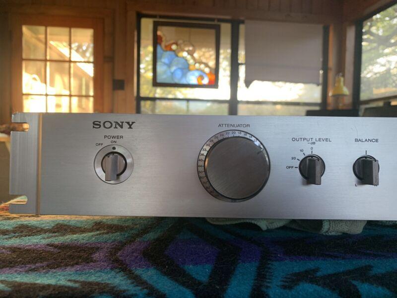 Sony TA E88 Preamp