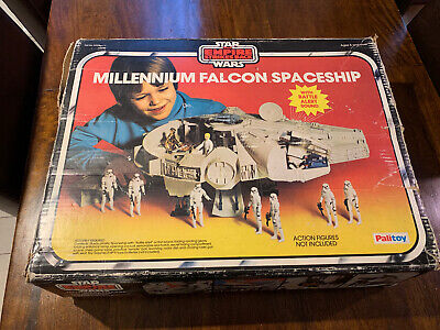 Vintage Star wars Palitoy Millennium Falcon Box Only See Photos