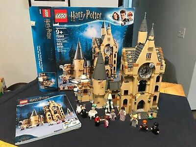 LEGO Harry Potter 75948 Hogwarts Clock Tower COMPLETE w box, book