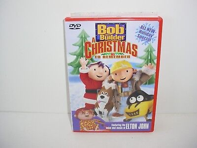 Bob The Builder A Christmas To Remember Dvd Movie