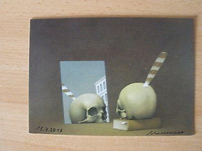 original Friedrich Meckseper - Kunst