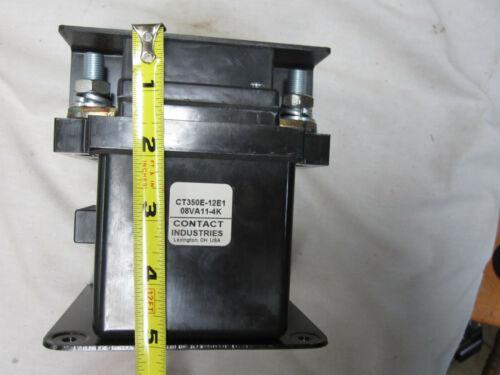 CONTACT INDUSTRIES CT350E12E1 CONTACTOR