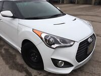 2013 Hyundai Veloster Turbo - One Owner, Manual