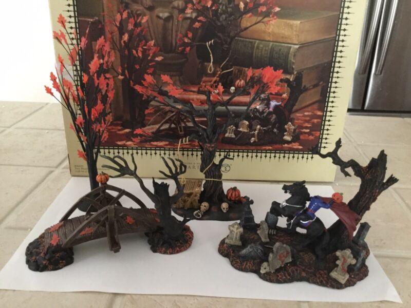 DEPT 56 HALLOWEEN Legends Of Sleepy Hollow The Headless Horseman 806459