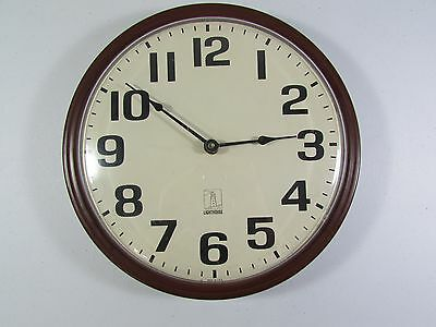 """12"""" Chicago Lighthouse Quartz Commercial Wall Clock School Business Made in USA"""