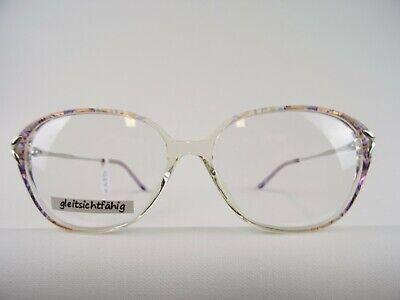 Lila-rosa farbene Damenbrille mit großen Gläsern für kleine Gesichtsform Gr. S