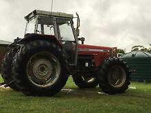 Massey Ferguson 4x4 399 Tractor; Yeomans Plow; 8' HD Slasher Wootton Great Lakes Area Preview