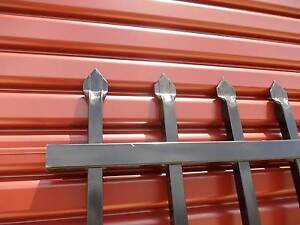Spear Top Steel Security Fencing Panel Black Hatton Vale Lockyer Valley Preview