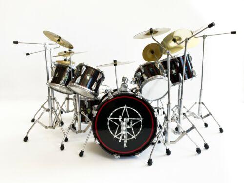 Mini Drum Kit Rush Neil Peart R30 Drum Set Replica