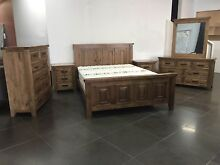 new AUGUST ASH GREY BED FRAME (BEDROOM) up to 30mth no interest Bundall Gold Coast City Preview