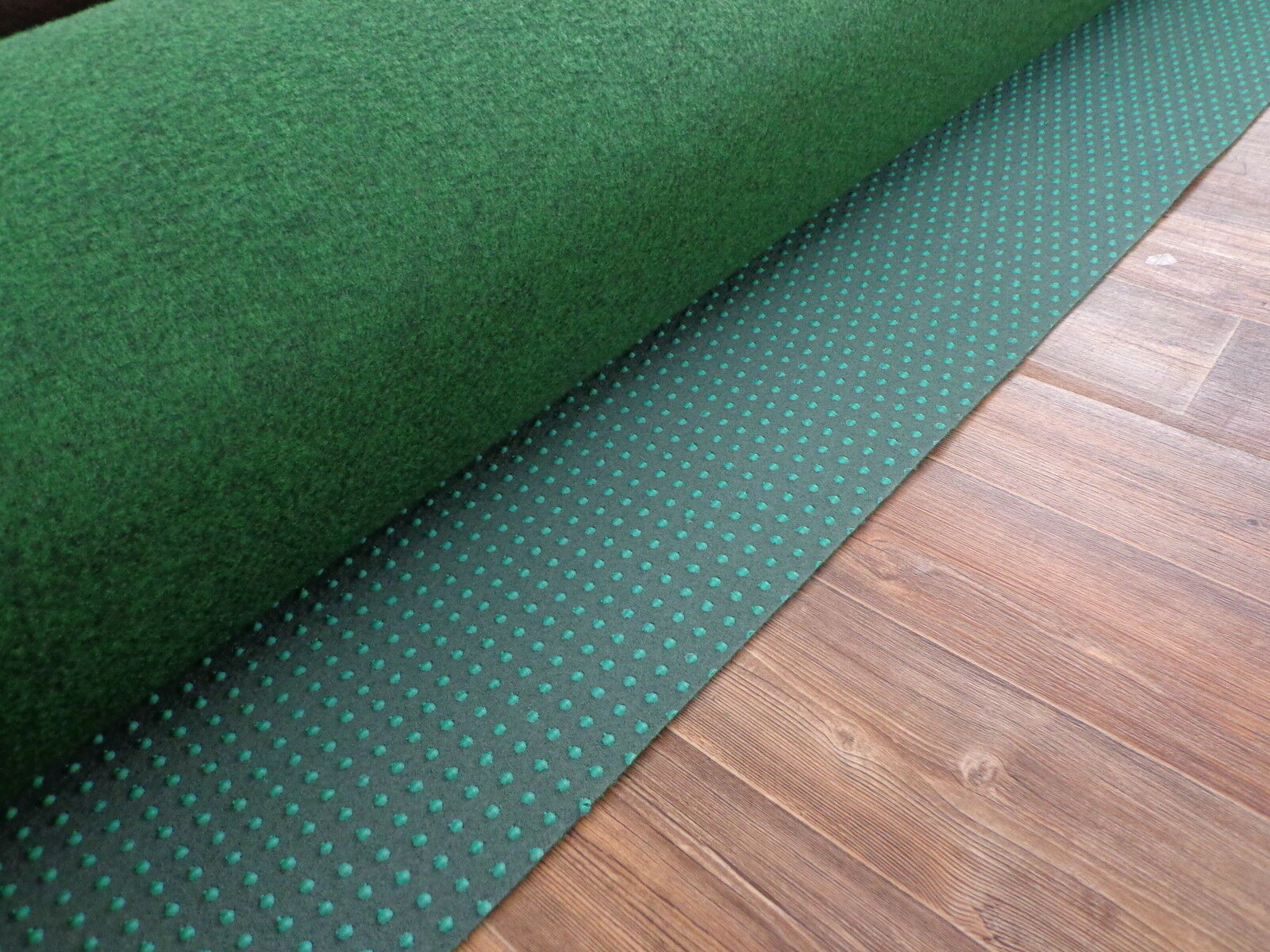 Kunstrasen Rasenteppich (3,79€/m²) Teppich Aktion grün 400 cm Fertigrasen Noppen