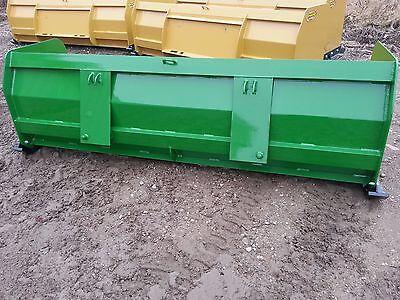 8 Ft New Snow Pusher Plow Snow Free Ship John Deere Compact Kubota Tractor