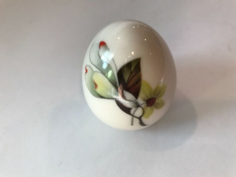 Polished Porcelain Easter Egg Paperweight