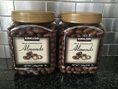 Almond Roasted Milk (KIRKLAND Milk Chocolate Almonds Roasted almonds covered in milk chocolate)