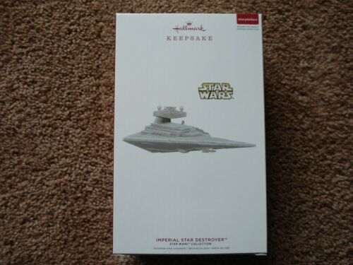 Star Wars Hallmark Keepsake Ornament Storytellers 2019 Imperial Star Destroyer