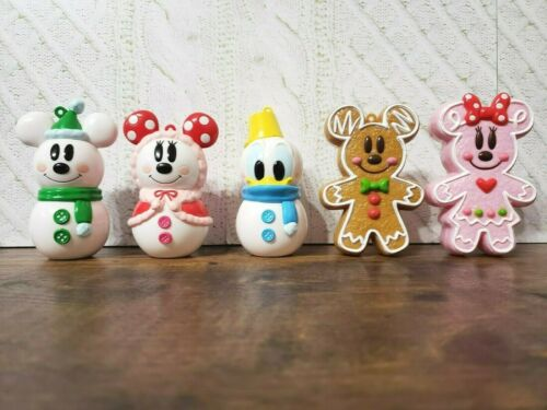 TOKYO Disney GingerBread Christmas Ornament 5 pieces Set candy case Ginger Japan