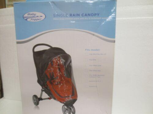 BABY JOGGER SINGLE RAIN CANOPY