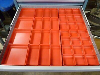 37pc 1 Plastic Box Assortment Fits Lista Vidmar Waterloo Craftsman Toolboxs