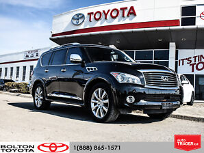 2011 Infiniti QX56 7 Passenger|Backup Camera|Navigation