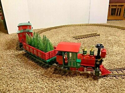 Lionel No. 9 G Scale Gauge Christmas Train Set Locomotive Engine Ho Ho Santa
