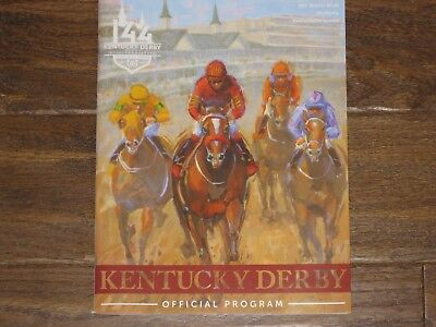 2018  New 144Th Kentucky Derby Program  Justify