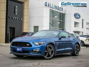 2017 Ford Mustang GT w/CALIFORNIA SPECIAL PKG AND PAINTED BLACK