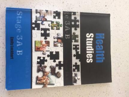 Health Studies 3A-B by Emily Lockhart