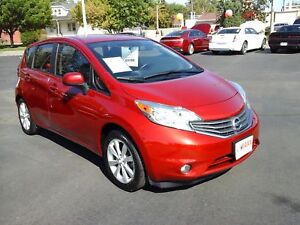 2014 NISSAN VERSA NOTE 1.6 SL- REAR VIEW CAMERA, HEATED FRONT SE