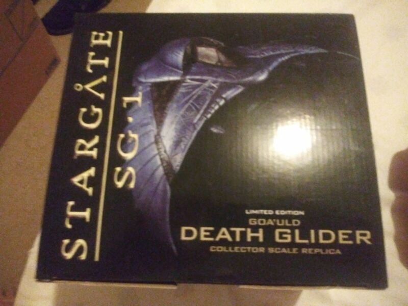 Stargate SG-1 Death Glider Statue MIB Quantum Mechanics QMX RARE