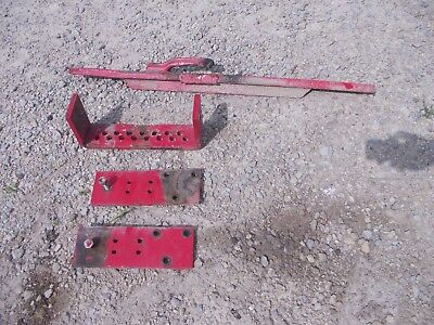 Massey Harris 33 Tractor Mh Swing Drawbar Draw Bar Tongue Hitch Support Plate