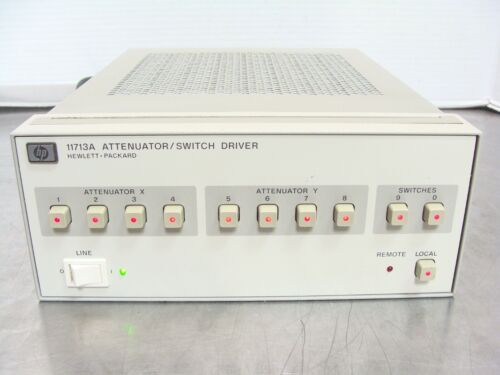 HP Agilent Keysight 11713A Attenuator / Switch Driver, Fully Tested, Guaranteed!