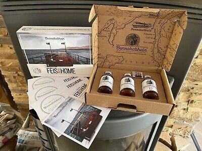 Bunnahabhain - Féis Ile 2021 - Tasting Pack, 3 x 3 cl., +FéisatHome-Pin & -Shirt