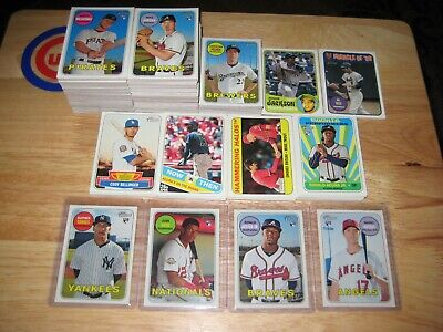2018 Topps Heritage High Number 285 Card Mini Master Set Acuna Soto Torres