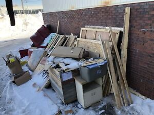 Junk removal- debris - recycling-  demolition