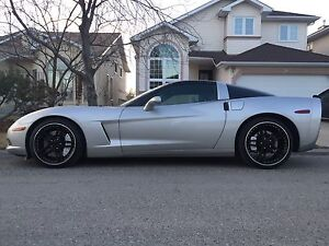 2005 CORVETTE COUPE! RARE C6 TARGA TOP WITH 6SPD MANUAL!