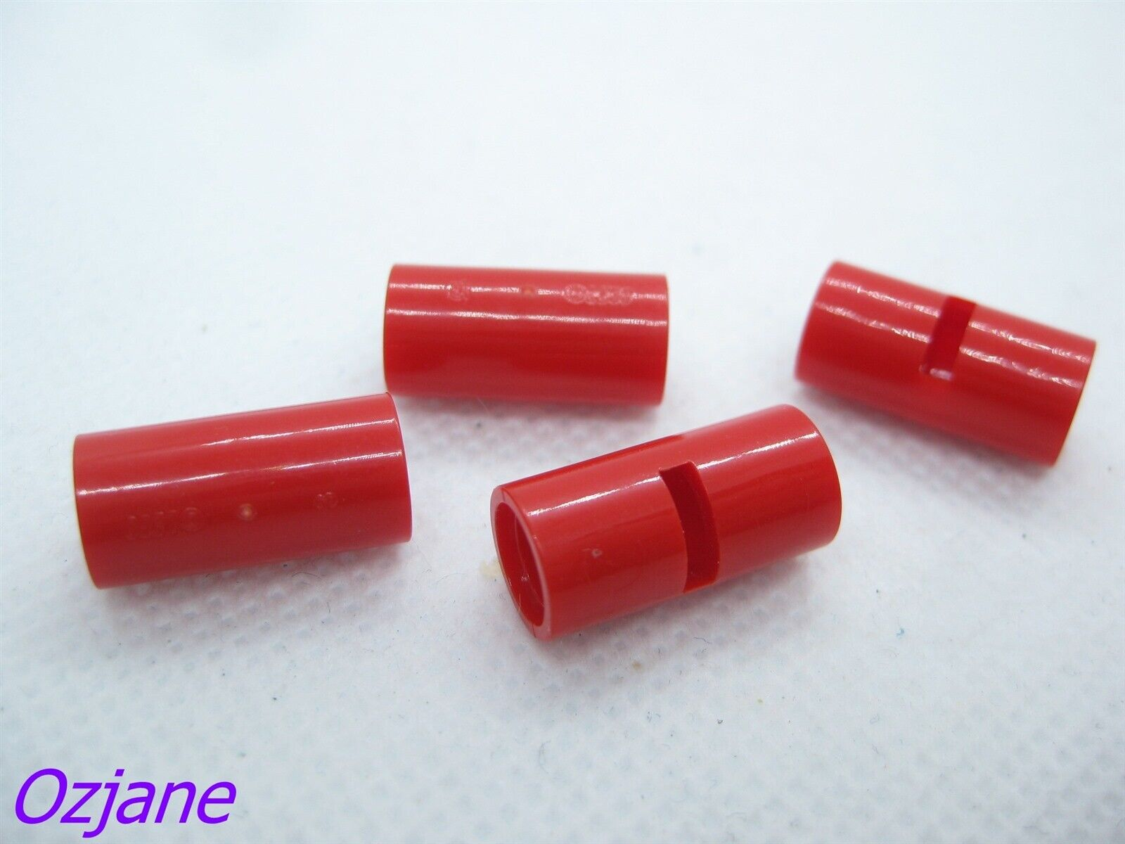 NEW RED TECHNIC PIN CONNECTOR ROUND WITH SLOT PART 62462
