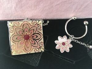 New in box The Passion pocket mirror & keychain