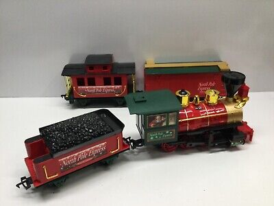 Christmas North Pole Express Train Set Scientific Toys LTD Tracks