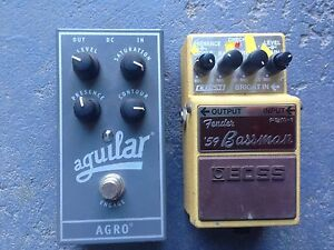 Used Bass Pedals Maryborough Fraser Coast Preview