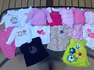 Huge lot of girl clothes - 6-12 months