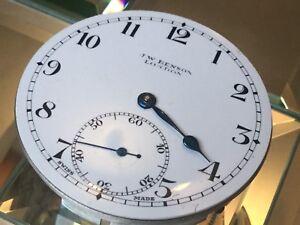 J W Benson Pocket Watch Running Strong
