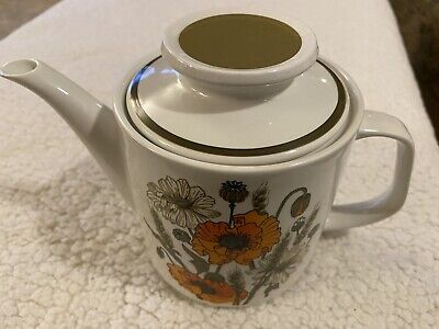 Used, J & G Meakin Studio Teapot Barley Corn Ears Wheat Field Corn Flowers for sale  Shipping to Ireland