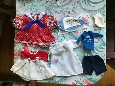 80s's Vintage Doll Clothes Dress Hat Toys'R'Us Doll Shirt Cabbage Patch Kid DIY