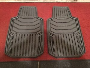 Brand New Vehicle Front Floor Mats/One Piece Back