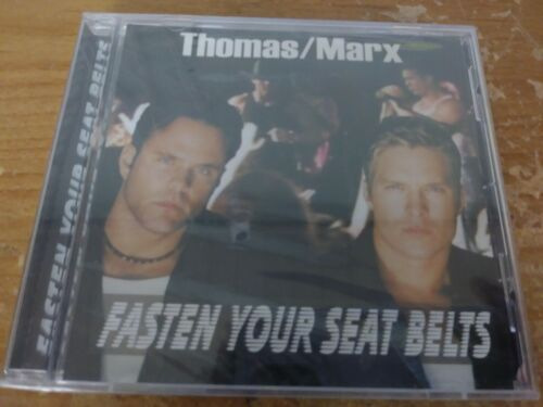THOMAS MARX FASTEN YOUR SEAT BELTS DANCE ELECTRONIC MUSIC CD ALBUM DISC 5 TRACKS