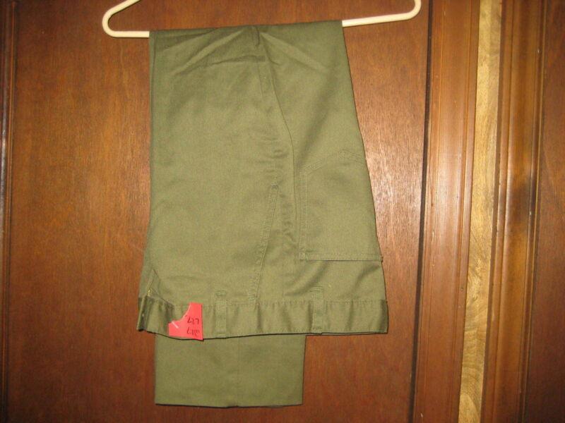 Boy Scout Pants, waist 27 size 14     eb04 #12
