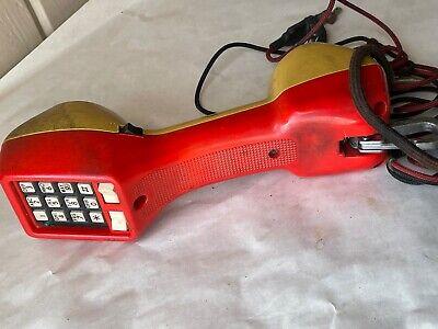 Harris - Dracon Ts21 Lineman Tester Buttset Test Set Handset.