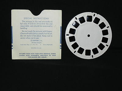 VINTAGE VIEW-MASTER 3D ~ LIFE WITH THE COWBOYS 1953 - Reel 942